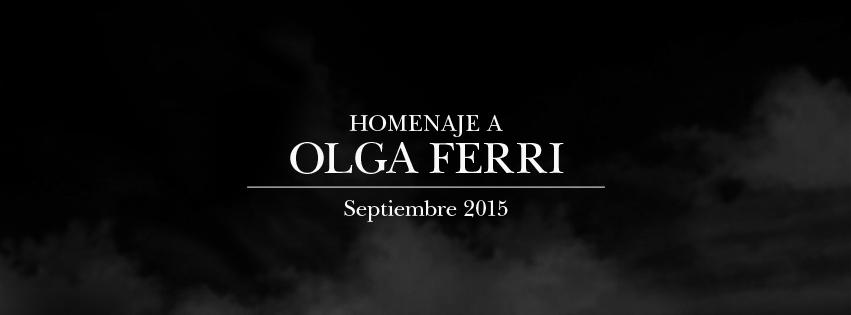 Homenaje a Olga Ferri