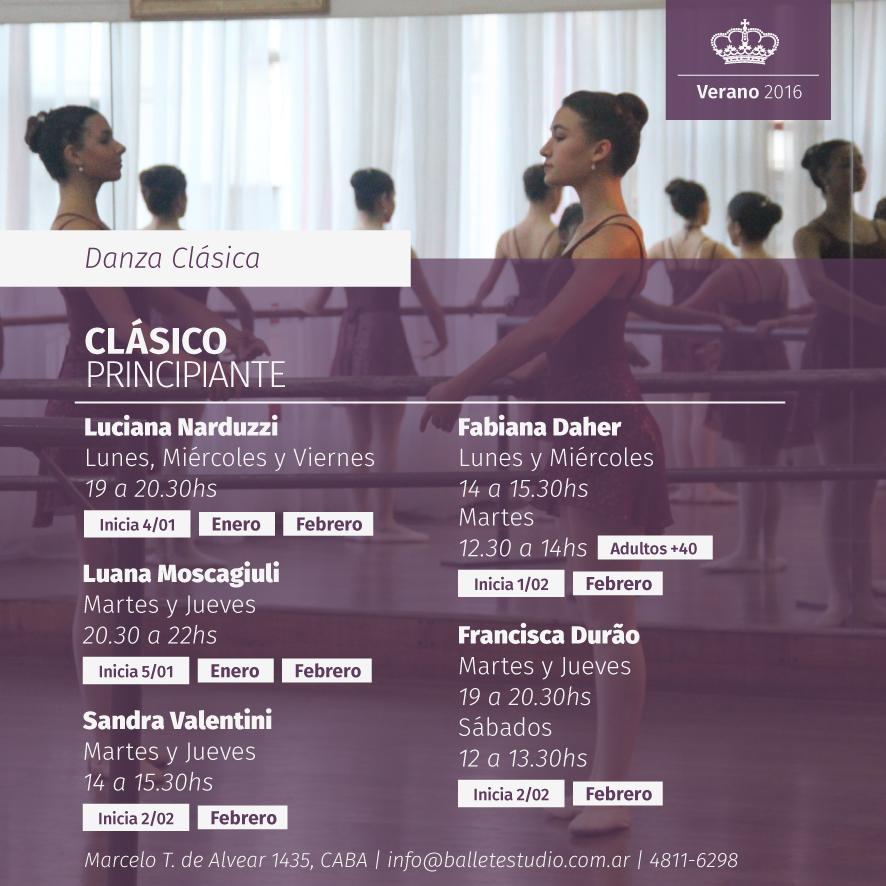 Danza Clásica - Principiante