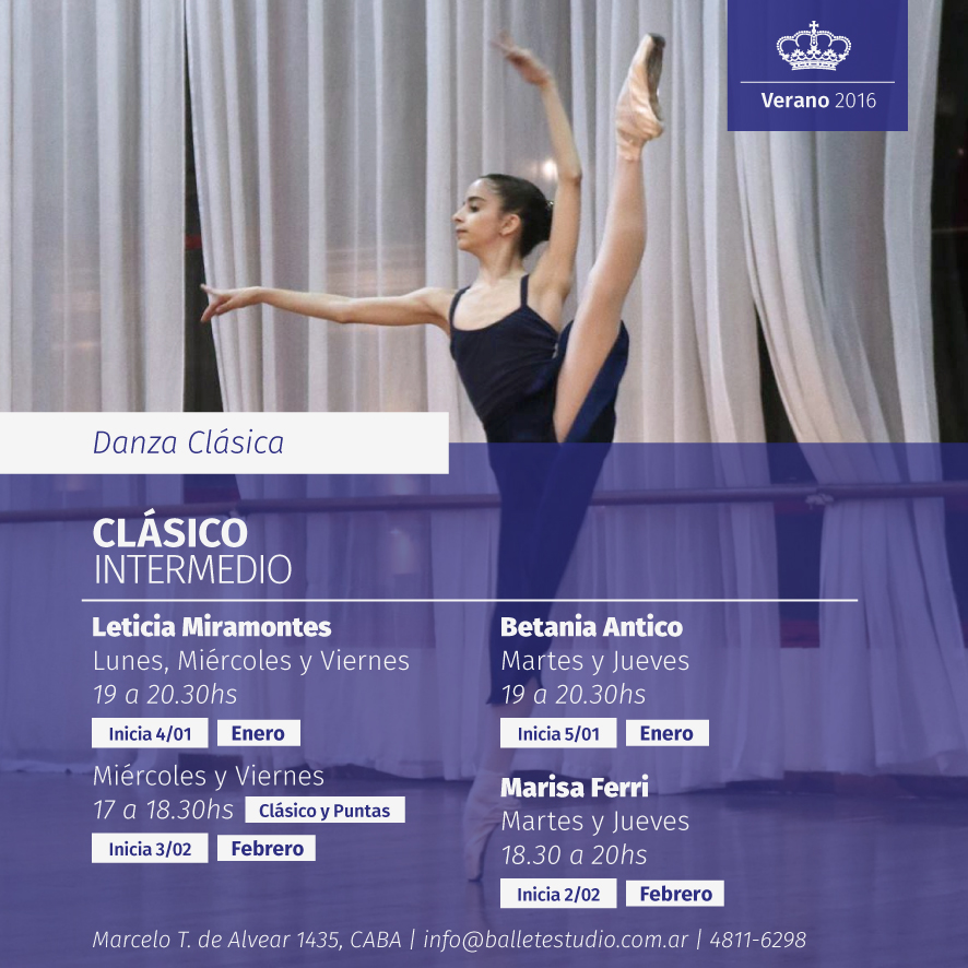 Danza Clásica - Intermedio