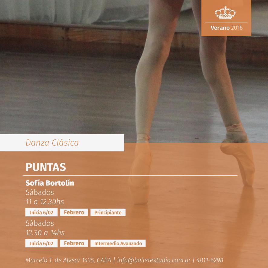 Danza Clásica - Puntas